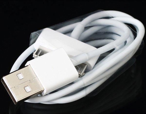 IPad USB Kablosu için 30Pin Kablosu USB Şarj Yüksek Kalite 1 M Beyaz Şarj Için iPad 2/3/4 4 4 s 4G 200 adet
