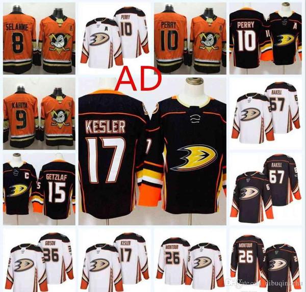 7c4639b81 Anaheim Ducks premier hockey jerseys #8 Teemu Selanne 15 Ryan Getzlaf 17  Ryan Kesler 10