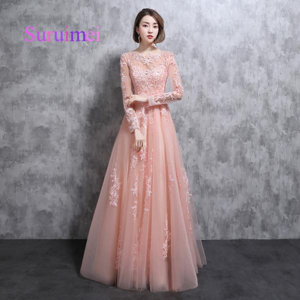 Compre Envío Rápido Vestidos De Noiva Largos Vestidos De Noche De ...