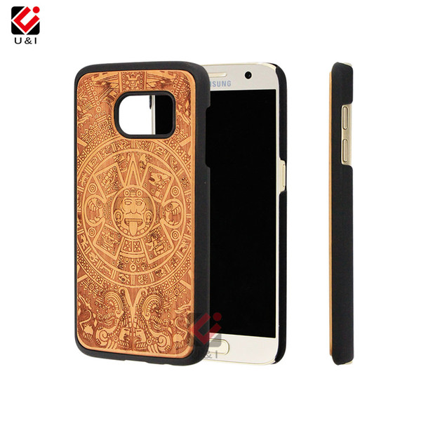 Online Phone Case Store Wood Phone Case For Samsung Galaxy S7 Edge For Samsung S7 Accessories Manufacturer Mobile Phone Cover