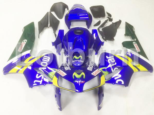 Moto Injection Molding Motorcycle Fairing Kit Fit For Honda CBR600RR CBR600 CBR 600 2005 2006 05 06 F5 Bodywork Fairings Custom Made A164