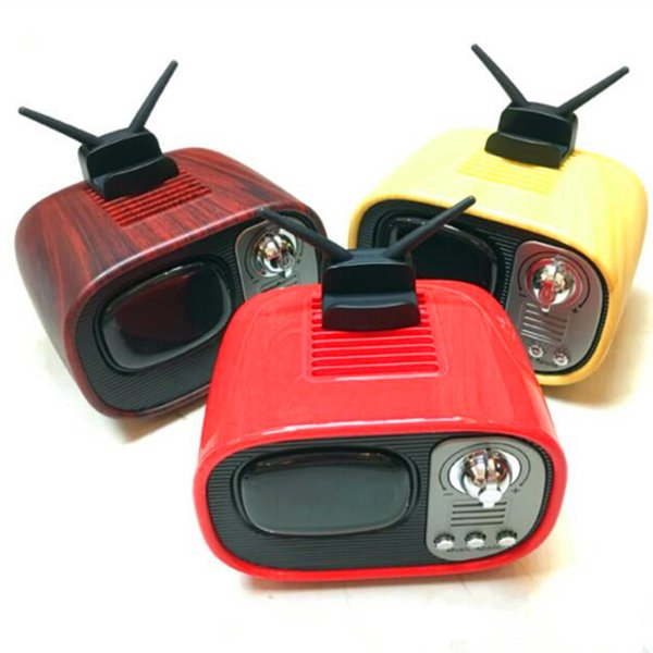 50pcs free shipping Factory direct B3 retro wireless bluetooth speaker gift custom phonograph lossless sound box