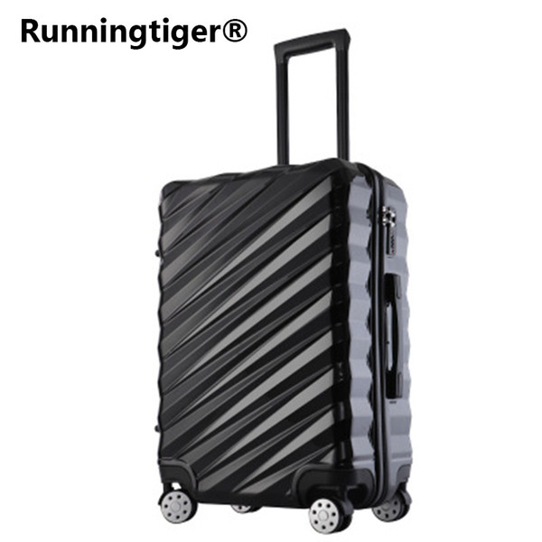 "20""24""26""28"" Aluminum frame Luggage New Travel Suitcase with Spinner Rolling Trolley Case Carry-On with wheel PC Hard shell Box"