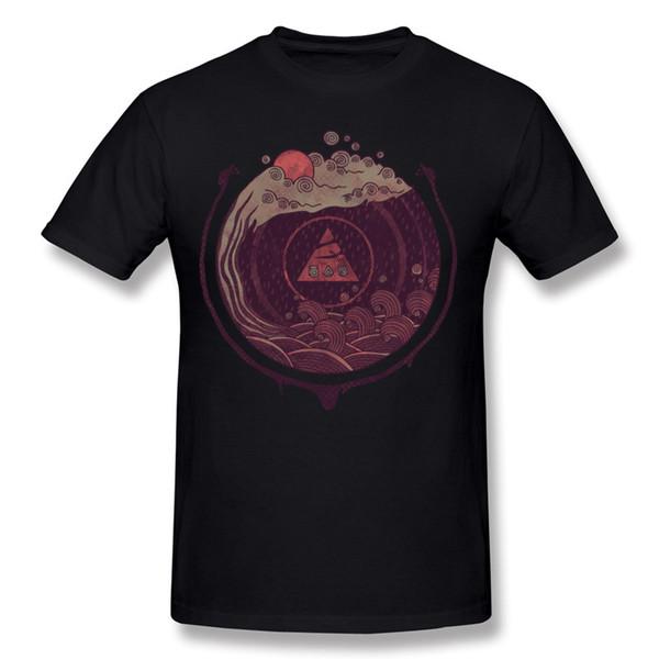 Designer Man 100 Cotton Dark Waters Tee-Shirts Man O Neck Grey Short Sleeve Shirt Plus Size Street Tee-Shirts
