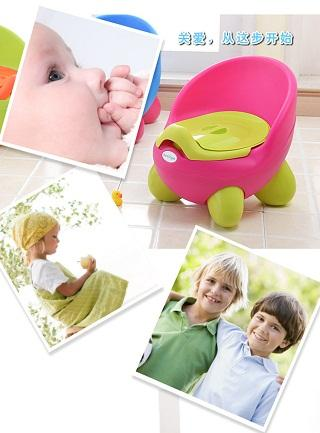 green Baby Potty Toilet Car WC For Kids Toilet Trainer Girls Seat Chair Comfortable Portable Animal Pot Children Toilet for Baby Girls