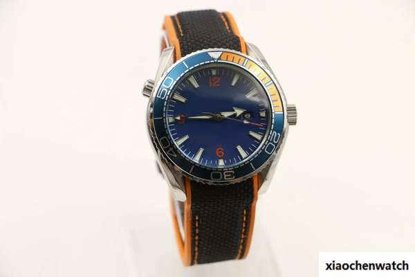 Mens Sport Diver Watch watches automatic movement wristwatch agent 007 Favorites wristwatches rotatable bezel date display