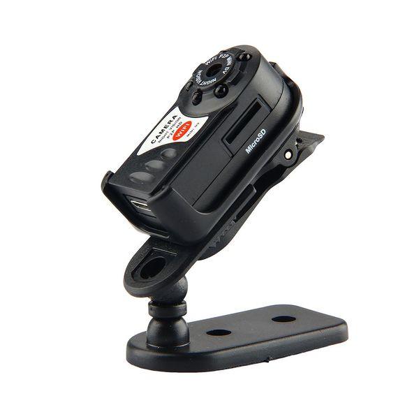 ET Q7 WiFi IP Kamera 480 P Video Kaydedici Mini Kablosuz Kamera Kızılötesi Gece Görüş Hareket Algılama Kamera Mic DV DVR ile