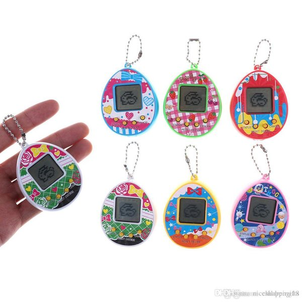 197 Handheld Games Christmas Gifts Tamagotchi Pets Virtual Cyber Pet Toy Funny Kids Virtual Pet Learning Toys Máquina Electrónica Para Masco