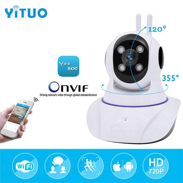 hd 720P mini Surveillance Security Camera Wifi Wireless IP Camera Baby Monitor IR infrared 10m Night Vision Camera Cam YITUO