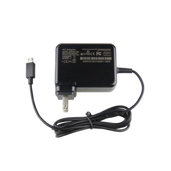 19V1.75A para carregador de tablet ASUS X205TA X205T Laptop com adaptador de energia