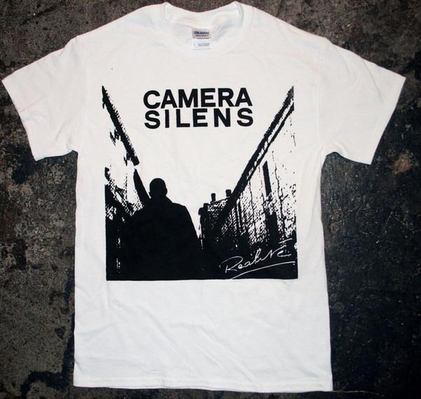 Camera Silens - 'Realite' T - Shirt (punk Oi French Nabat Sect Blitz Kbd) Short Sleeves Cotton T Shirt Free Shipping TOP TEE