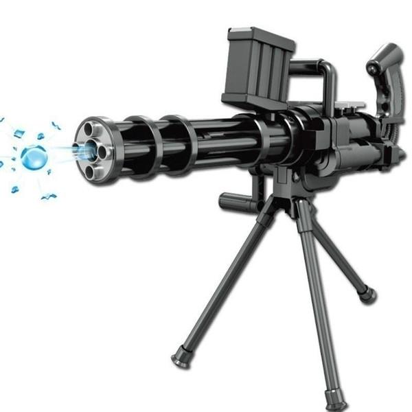 Pistola de Pistola de Pistola de Polímero de Agua Cristalina Suave Pistola de Pistola Pistola de Agua de Juguete de Plástico Niños Juguete de Sonido Largo Moda Caliente Amplia gama y gran capacidad