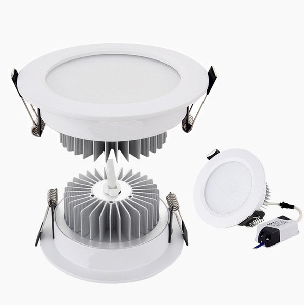 best selling 9W 12W 15W 18W Led Downlights Dimmable Led Down Lights Recessed Ceiling Light 110-240V + CE UL SAA