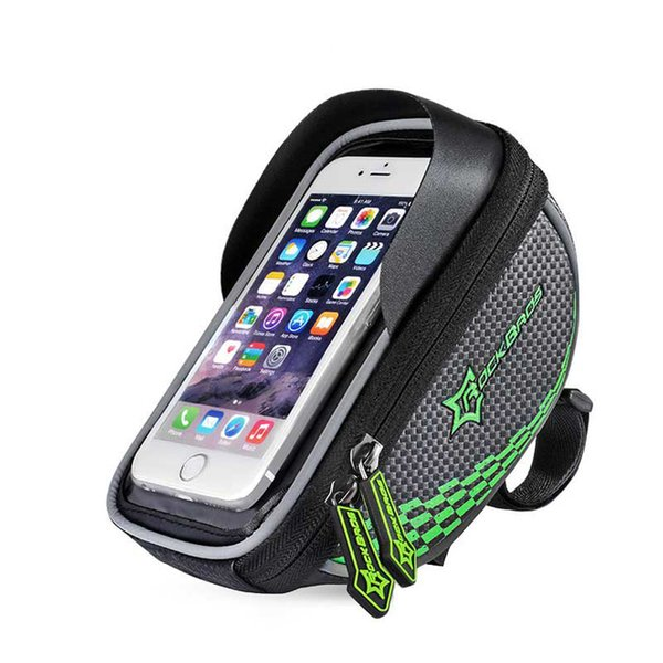 Bike Frame Front Tube Bag Cycling Riding Bag Pannier Smartphone GPS Touch Screen Case Bike Bicycle Accessories Phone 4 Colors