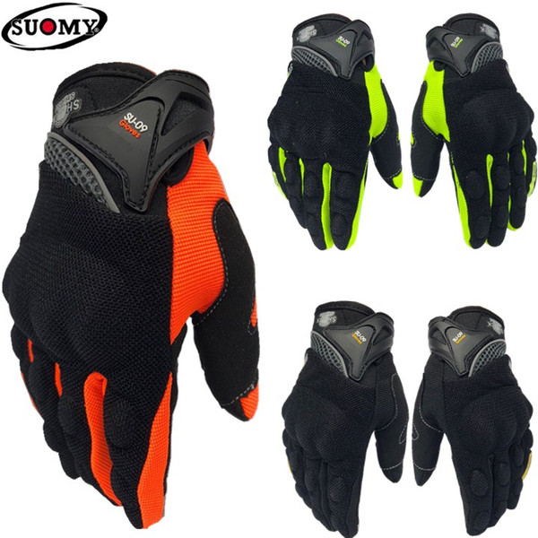 2018 Top suomy su-09 summer Breathable motorcycle gloves/ racing gloves/riding gloves/ Outdoor sports Gloves 3 colors