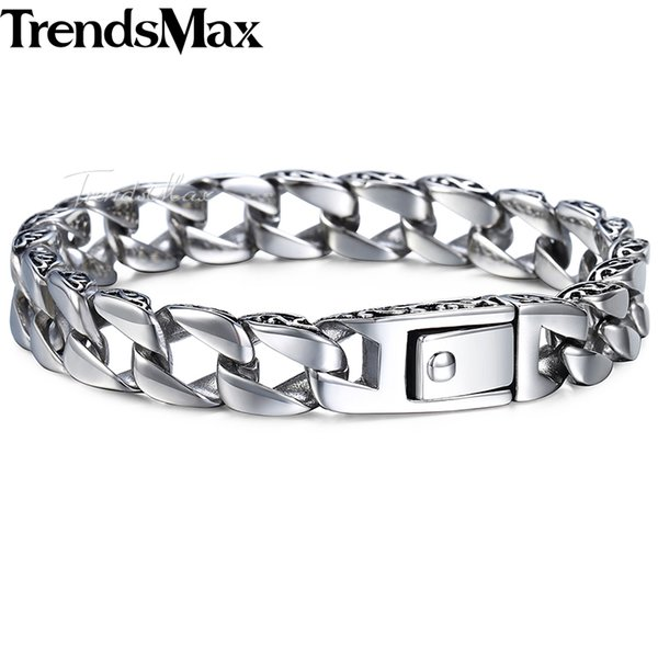 check-out 41721 50e82 Acquista Trendsmax Fashion New Stainless Steel Bracciale Uomo Vintage Totem  Mens Bracciali 2018 Cool Male Wristband Jewelry HB30 A $18.29 Dal Tuosu |  ...