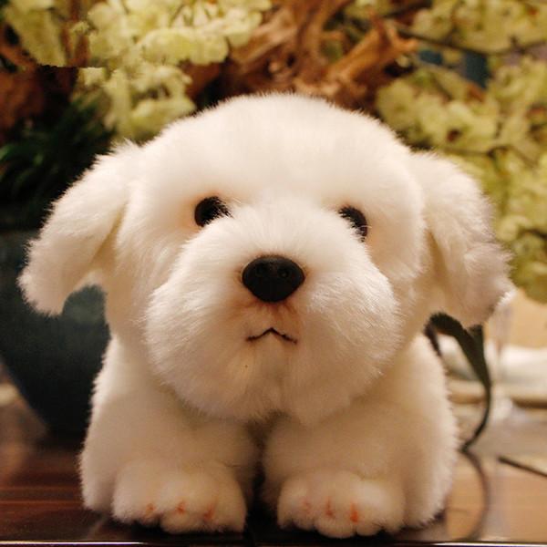 Kalite Simülasyon Çoban Köpeği Peluş Bebek Köpek Oyuncak Sevimli Bebekler Dekorasyon Eşlik Eden Hayvan Evcil 36x15x15 cm