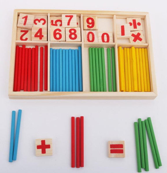 best selling Puzzle educational pine drawing board learning box Nurse brain computing arithmetic arithmetic toy YZWJ005