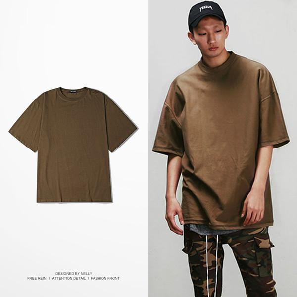 Fashion Men & Women Couples T Shirt Summer Swag Oversized T-Shirt Cotton Hip-hop Streetwear Short Sleeve Top Tees Multi-color