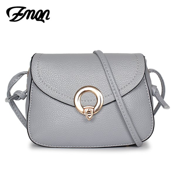 ZMQN Women Messenger Bags Mini PU Leather Small Over Shoulder Crossbody Bags For Phone Girls 2017 Casual Cheap Light A549