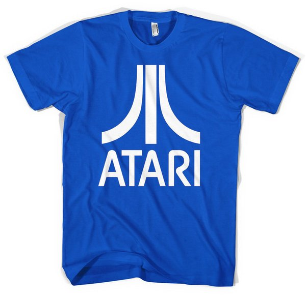 New Retro Atari Unisex T shirt All Sizes ColoursFashion T Shirt New T Shirts Funny Tops Tee New Unisex Funny Tops free shipping