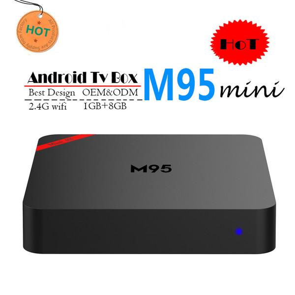 Best M95 MINI Allwinner H3 1G 8G Android 7.1 TV BOX Quad Core Ultra HD H.265 4K Stream Media Player Better Amlogic S905W TX3 X96 mini S912