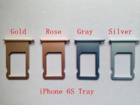 Para el reemplazo de la ranura del soporte de la bandeja de la tarjeta SIM para el iPhone 5 5s 5c 5SE 6 6Plus 6S 6S Plus 7 7 Plus 8 8 Plus