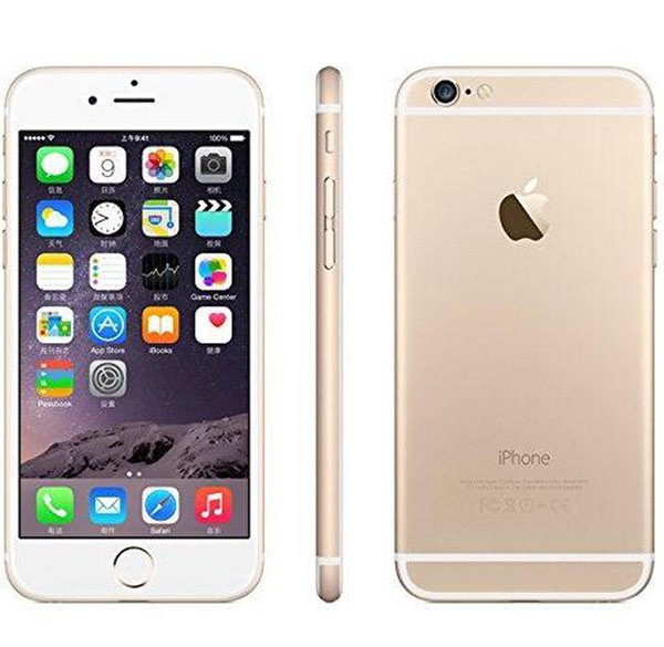 Original Unlocked Refurbished 4.7inch 5.5inch iPhone 6 6 Plus IOS 1.4GHz phone 8.0 MP Camera 3G WCDMA 4G LTE Cell Phones DHL Free