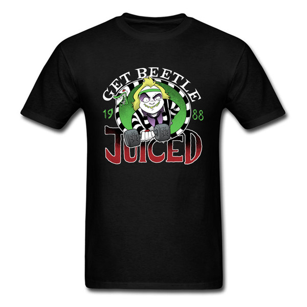Get Beetle Juiced Magliette divertenti Ugly The Master Game Tshirt Mens Summer Fall Slim aderente Plain Tshirt On Sale Cheaper