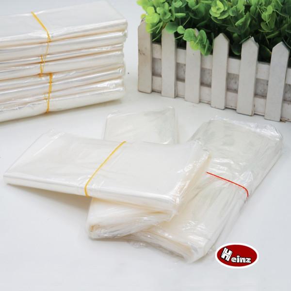 35*50cm POF Heat shrink bag Transparent shrink wrap package Heat seal bag Gift packing storage plastic bag.Spot 100/ package