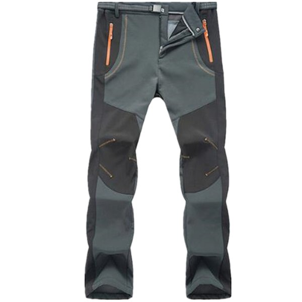 New Winter Men Women Tactical Pants Outdoors Soft shell Trousers Waterproof Windproof Thermal for Camping Ski
