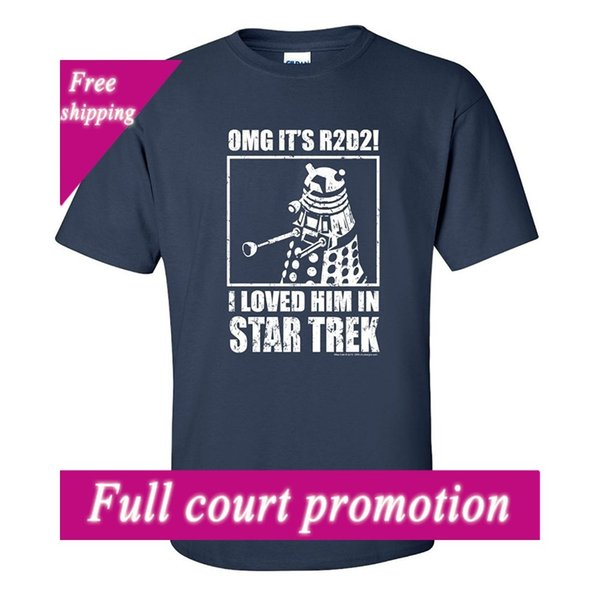 2018 Yeni Marka T Gömlek Erkekler OffWorld Tasarımlar Unisex OMG Onu Sevdi Bilimkurgu Klasik T-shirt Erkekler t gömlek Popüler Anime T-Shirt
