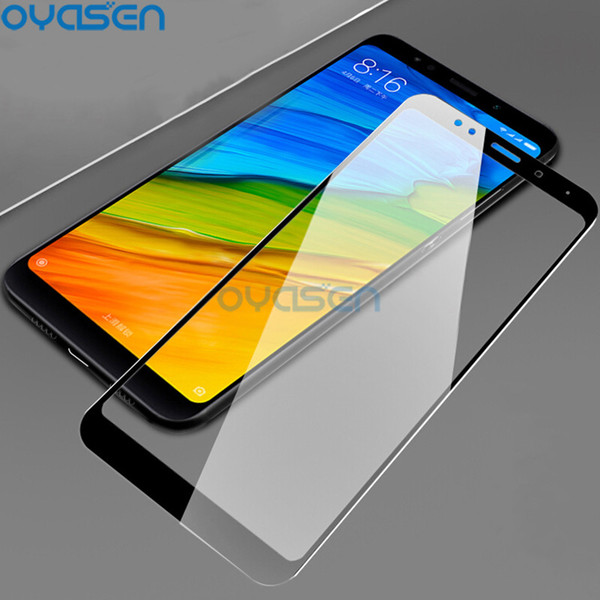 9H Full Coverage Tempered Glass For Xiaomi Redmi 5 Plus 5A Explosion Proof Toughened Mobile Phone Screen Protector Cover Film