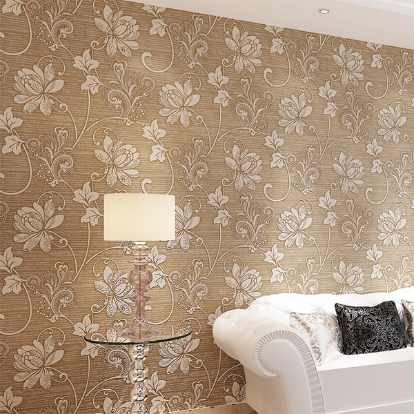 3d Wallpaper Flower Floral Texture Murals Papel De Parede Embossed Classic Rural For Bedroom Livingroom Sofa Backdrop Wpwallpapers Pc Wallpapers For