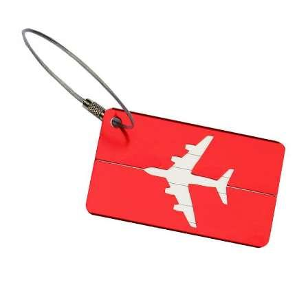 Metal Travel Luggage Tag Label Holder Suitcase Name ID Address Tags Boarding Cards Outdoor Traveling Gadgets