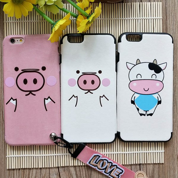 Cute Cartoon Cow Soft TPU Covers