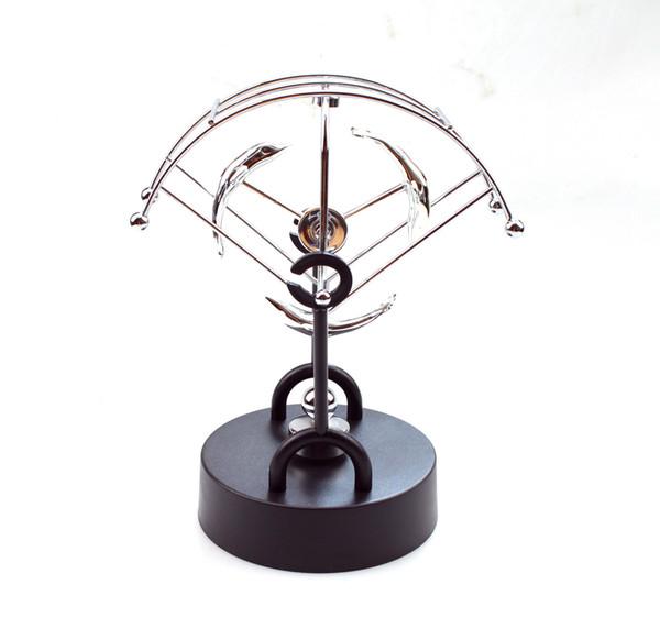 Aparato de balanceo magnético instrumento de movimiento permanente eléctrico conservación de energía caótica Newton bola ornamento de hogar péndulo
