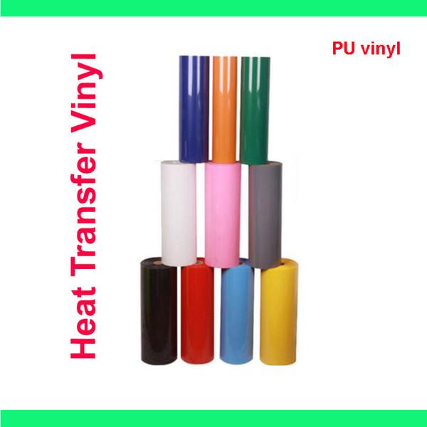 "Free shipping 1 sheet 12""x40""/30cmx100cm PU Heat Transfer Vinyl for Heat Press Machine T-shirt Iron On HTV Printing SALE!"