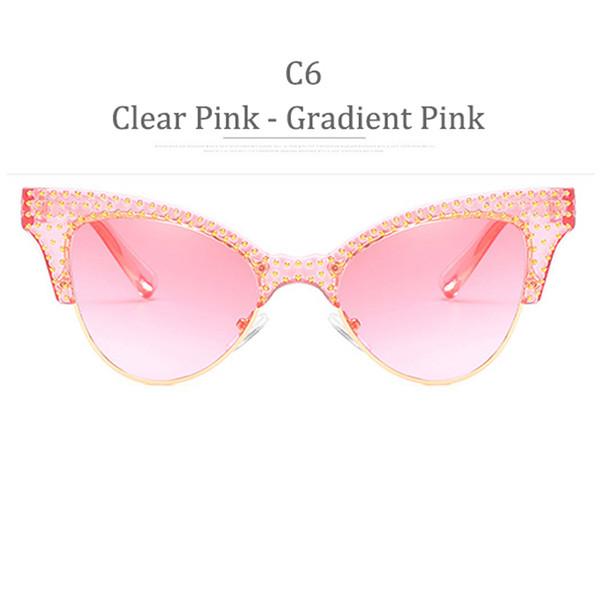 C6 Rosa rosa gradiente rosa gradiente