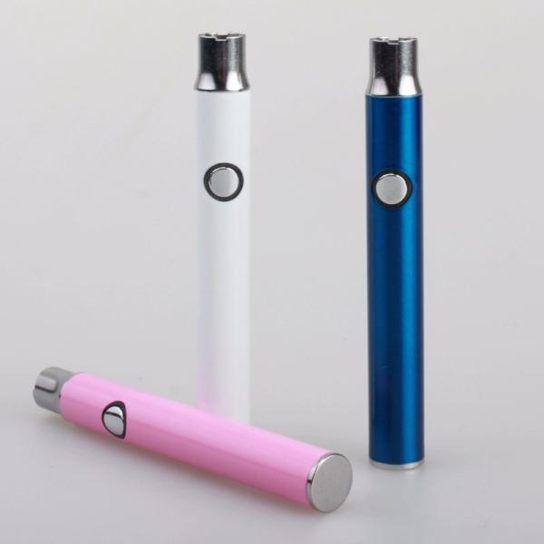 Preheating Vape Pen 350mah VV 3.7-4.1V Preheat Battery Button 510 Battery CE3 Vaporizer Pen E Cig Can Fit Ceramic 510 Cartridge