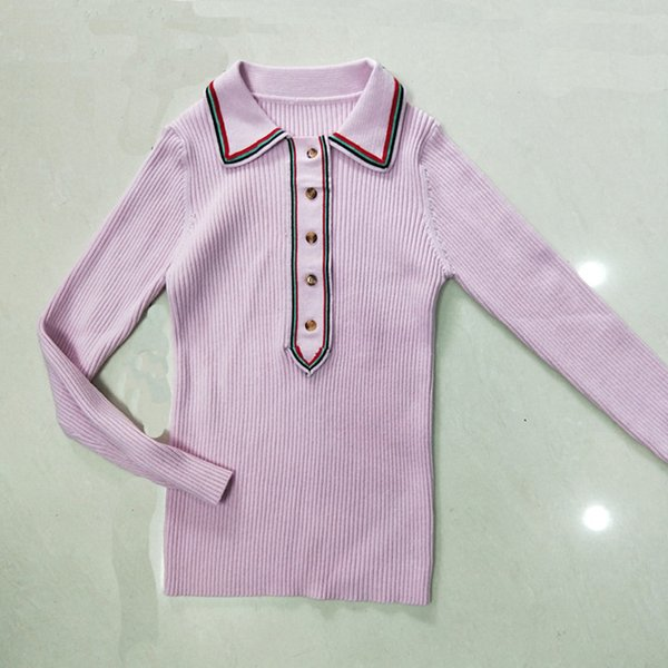 women sweater Woman Tops Knitting Blouses Merchandise Of Superior Quality Intermittent Lapel Button Slim Display Temperament Jacket
