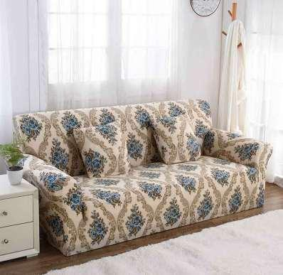 super popular fd31c 75285 Spandex Slipcovers Sofa Cover Elastic Tight Wrap All Inclusive I Shaped  Sofa Covers Stretch Furniture Covers 1/2/3/4 Seater Seat Covers Dining Room  ...