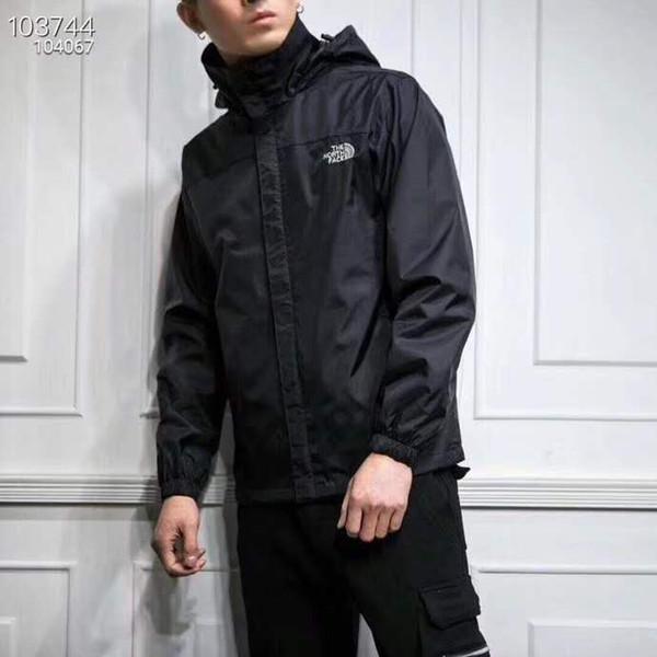 New sports Couple jacket hooded jacket cardigan zipper cardigan jacket Early autumn hooded trench coat style casual