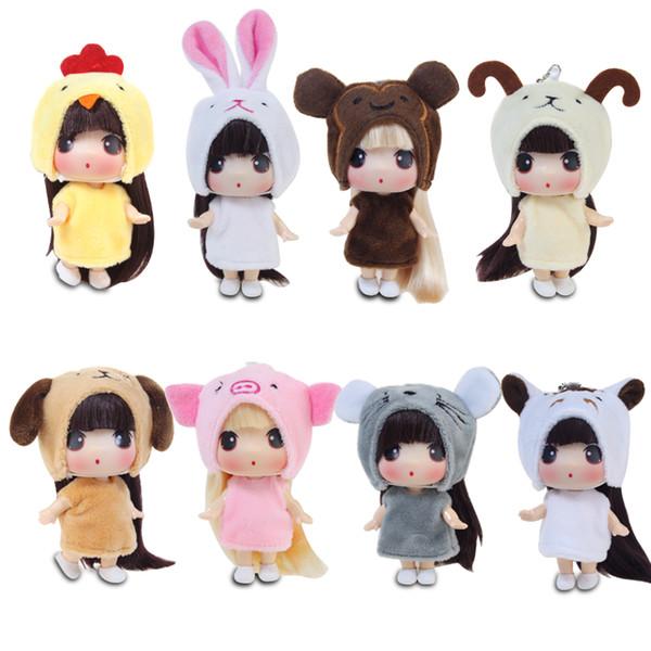 2019 Korean Ddung Doll Twelve Zodiac Girl Toys Mini Princess
