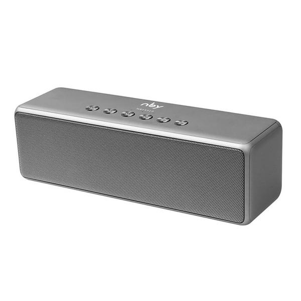 NBY 5520 Altavoz Portátil Bluetooth Altavoces de Subwoofer Altavoces Inalámbricos Sistema de Sonido 3D Surround de Música Estéreo Con Tarjeta de Micrófono TF