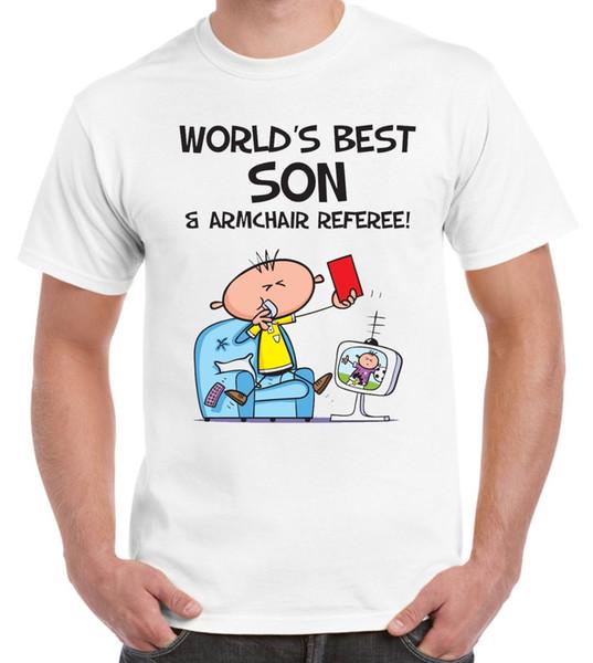 Worlds Best Son Männer T-Shirt - Weihnachten Geburtstagsgeschenk Geschenk
