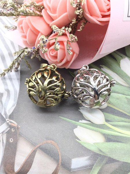 Multiple Shapes Hollow cage Pendant Shellhard Women Pregnancy Necklace Making Mexico Balls Lockets Pendant Necklace For Wome