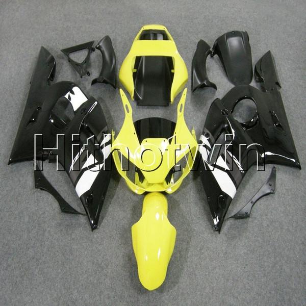 23colors + 8Gifts gelb schwarz Karosserie Motorradverkleidung für Yamaha YZFR6 1998 1999 2000 2001 2002 YZFR6 ABS-Kunststoff Verkleidung