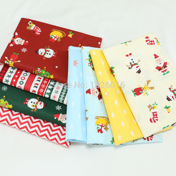 Christmas Fabric 2019.2019 Zengia Christmas Fabric Cotton Fabric By Meter Baby Kids Cotton Fabrics For Tissu Patchwork Sewing Quilts Bedding Pillow Dress From Wuyasi