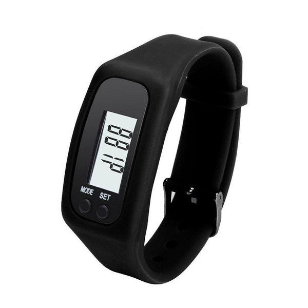 Display Sports Gauge Step Tracker Digital LCD Pedometer Run Step Walking Calorie Counter Wrist Sport Fitness Watch Bracelet